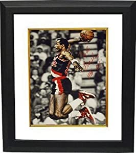 Clyde Drexler Autographed Hand Signed Portland Trail Blazers 16x20 Photo HOF 04... by Hall of Fame Memorabilia