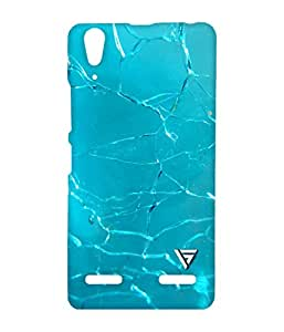 Vogueshell Broken Glass Pattern Printed Symmetry PRO Series Hard Back Case for Lenovo A6000
