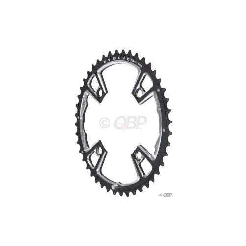 Race Face Evolve DH Crankset, 104mm, 22/32/44T, Black