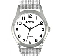 White Dial Steel Expansion Strap Ladies Wrist Watch New