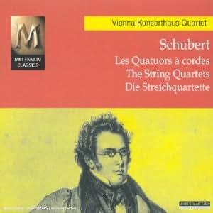 Schubert : Les Quatuors à cordes (intégrale)