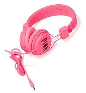 Victoria s Secret PINK DJ Headphones Neon Hot Pink BONUS #0: 41M26KW PjL SY300