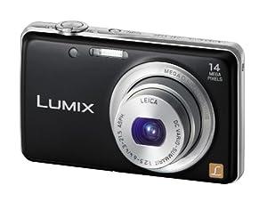 Panasonic Lumix DMC-FS40EF-K Appareil photo numérique 14,1 Mpix Noir