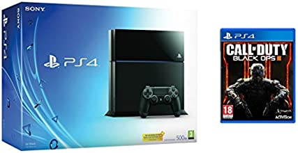 PlayStation 4 - Consola 500GB (Nuevo Chasis) + Call of Duty Black Ops III