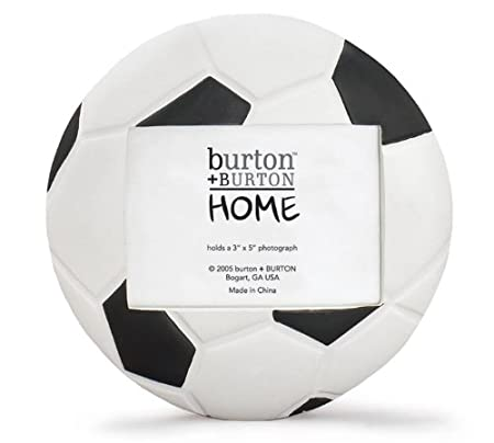 Soccer Ball (Football) Shaped Picture Frame