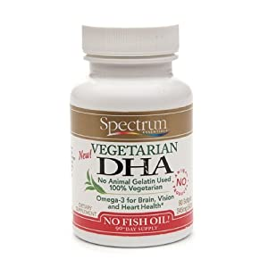 Spectrum Essentials Vegetarian DHA -- 90 Softgels