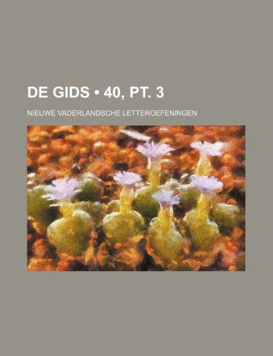 De Gids (40, pt. 3); Nieuwe Vaderlandsche Letteroefeningen