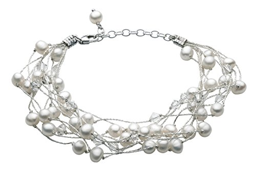 dew-womens-multi-stranded-swarovski-crystal-and-freshwater-pearl-bracelet-of-length-of-8-inch