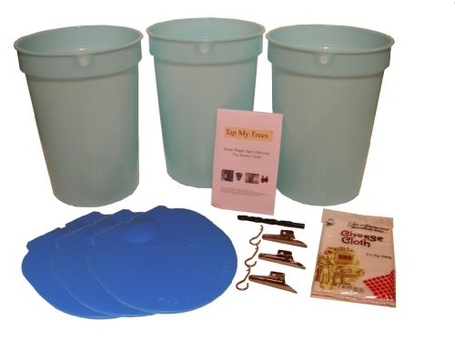 Maple Tapping Starter Kit with Plastic Buckets