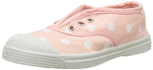 Bensimon - Elly Pastel Pastilles, Scarpe da ginnastica Unisex - Bambini, Rosa (Pink (410 Rose)), 35 EU