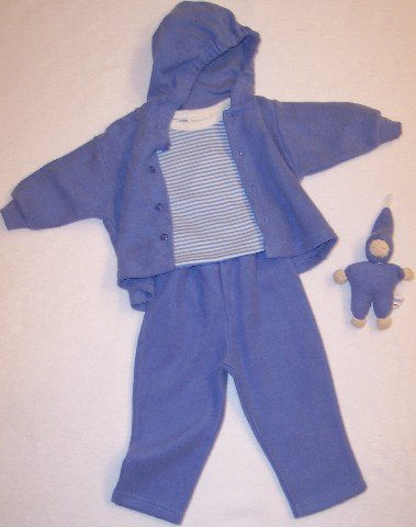 Organic Sherpa Set - Jacket, Trousers, Baby Body + Baby Doll - Buy Organic Sherpa Set - Jacket, Trousers, Baby Body + Baby Doll - Purchase Organic Sherpa Set - Jacket, Trousers, Baby Body + Baby Doll (Under the Nile, Under the Nile Apparel, Under the Nile Toddler Boys Apparel, Apparel, Departments, Kids & Baby, Infants & Toddlers, Boys, Outerwear & Activewear, Jackets)