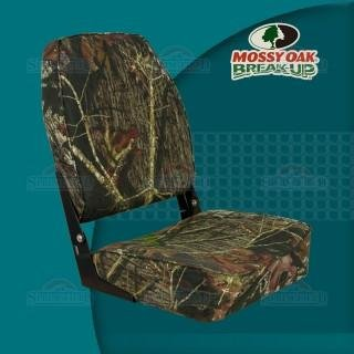 Springfield 1040646 Camouflage Mossy Oak Break-Up Economy Folding High Back Chair