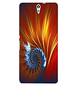 ColourCraft Printed Design Back Case Cover for SONY XPERIA C5 ULTRA