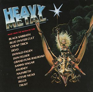 Original album cover of Heavy Metal: Music From The Motion Picture by Various Artists