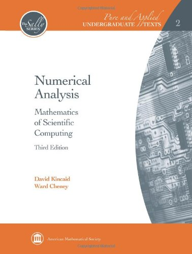 Numerical Analysis: Mathematics of Scientific Computing (Pure and Applied Undergraduate Texts)
