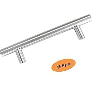 Probrico pd201hss96 t bar kitchen cabinet pulls drawer - Amazon kitchen cabinet pulls ...