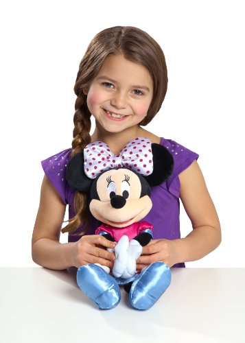 Minnie Bowtique Hold My Hand Singing Minnie Plush