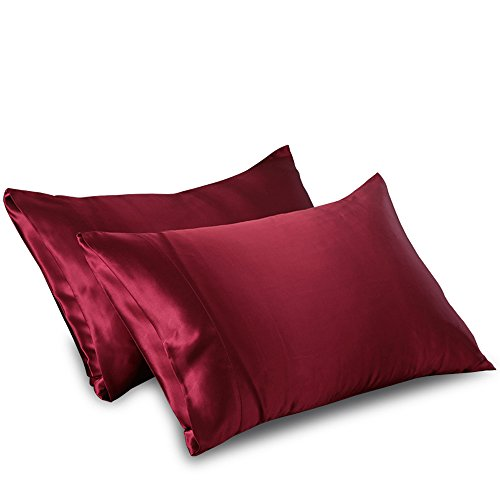 ellesilk-claret-silk-pillowcase-22-momme-mulberry-silk-hypoallergenic-machine-washable-standard-size