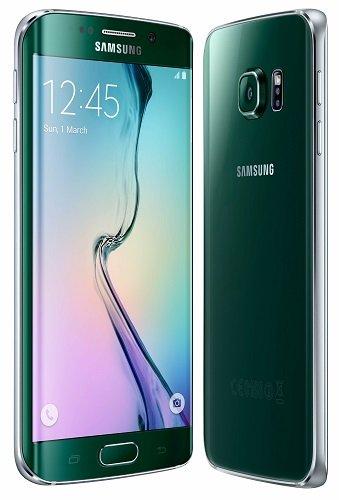 Smartphone (64GB Speicher) für Samsung Galaxy S6 Edge grün