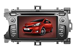 See AupTech 2011-2014 Toyota Yaris DVD Player Android System GPS Navigation Radio Stereo Video 2-Din HD Screen With Bluetooth,Wifi,3G,Build in Analog TV and Steering Wheel Control Details