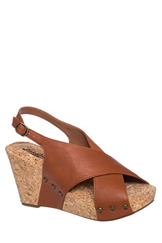 Minari Cork Wedge Sandal