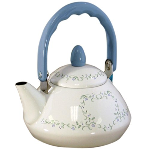 Corelle Coordinates Country Cottage 1.2-Quart Personal Teakettle