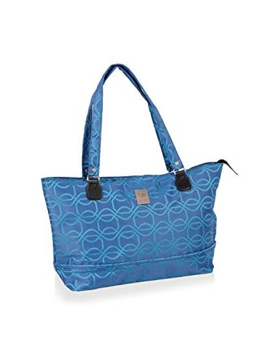 Jenni Chan Links Computer Tote, Blue