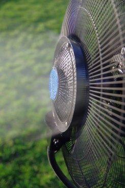 Ventilateur brumisation