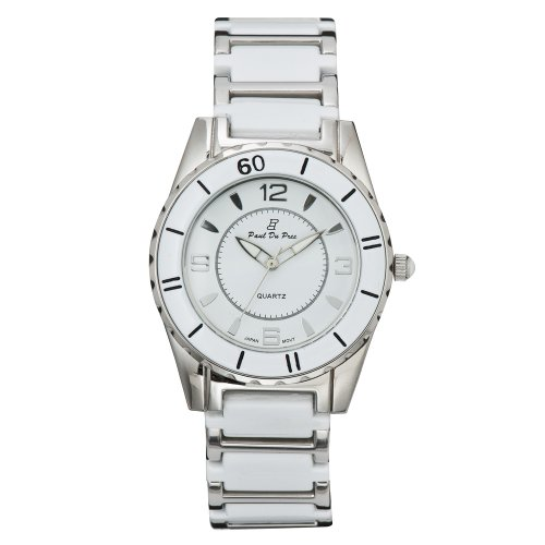 Paul Du Pree Women's PD226025SSDW White Dress Watch