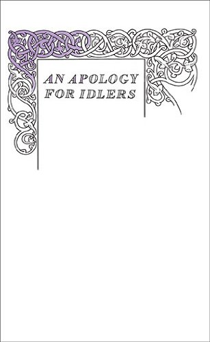 An Apology for Idlers (Penguin Great Ideas), Robert Louis Stevenson