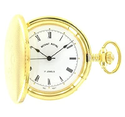 Mount Royal Pocket Watch B10M Gold Plated Full Hunter