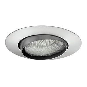 juno lighting 529 sc 5 inch downlight adjustable eyeball. Black Bedroom Furniture Sets. Home Design Ideas