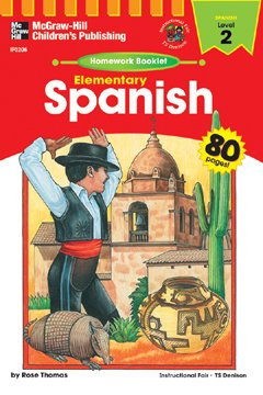 HOMEWORK BOOKLET SPANISH 2 ELEM. LEVEL 2 - 1