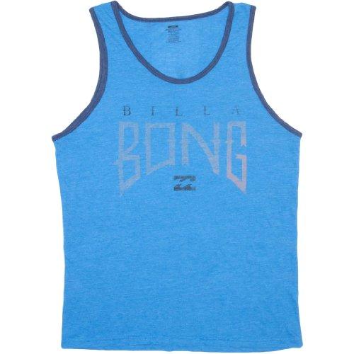 Billabong Men'S Boneyard Tank, Acid Blue Heather, Large front-982526