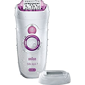 Braun Silk-epil 7 7-521 Wet & Dry Cordless Epilator