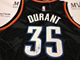 Authentic Kevin Durant Autograph Alternate Oklahoma City Thunder Jersey Amazon.com