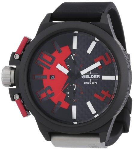 Welder K35 - Reloj unisex de caucho Resistente al agua multicolor