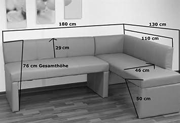 sam eckbank metz i in cappuccino linke seite 180 cm. Black Bedroom Furniture Sets. Home Design Ideas