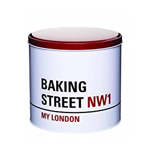 Kitchen Craft My London 'Baking Street' Round Storage Tin