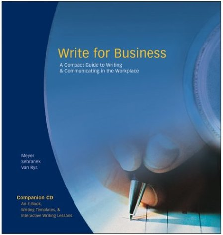 Great Source Write for Business: Handbook w/CD-ROM 2005 (Write Source 2000 Revision)