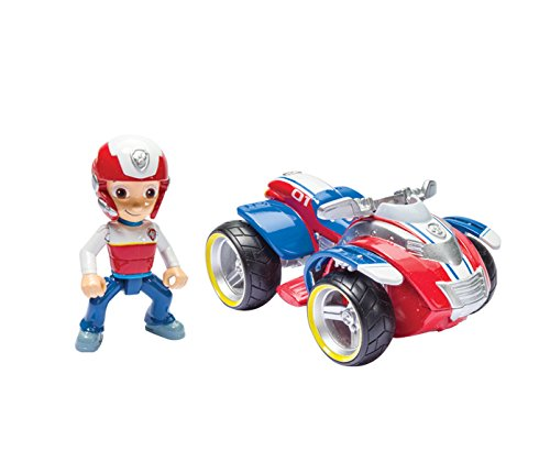 Nickelodeon, Paw Patrol - Ryder's Rescue ATV, Vehicle and Figure (works with Paw Patroller) - 1