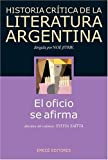 img - for Historia Critica de La Literatura Argentina (Spanish Edition) book / textbook / text book