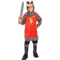 Crusader King Kids Costume
