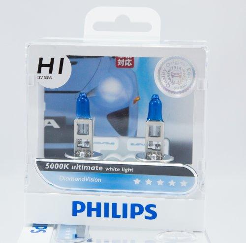 Philips Diamond Vision H1 Head Light Bulb