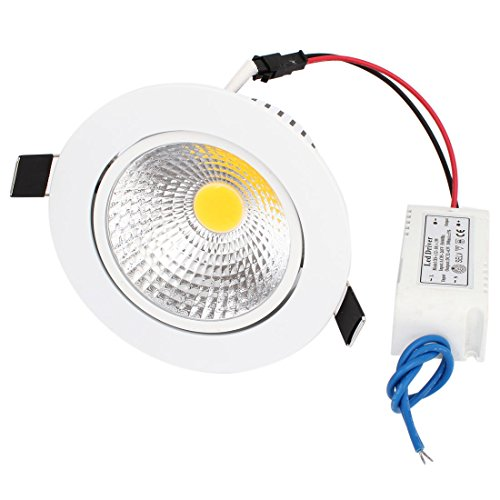 120Lm 15W Cob Led Recessed Ceiling Downlight Warm White Bulb