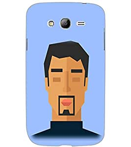 SAMSUNG GALAXY GRAND NEO FACE Back Cover by PRINTSWAG