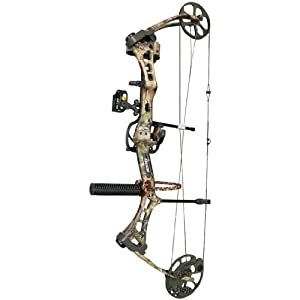 Bear Archery Encounter Ready - to - Hunt Compound Bow Package, RLTR APG, RH 27/70