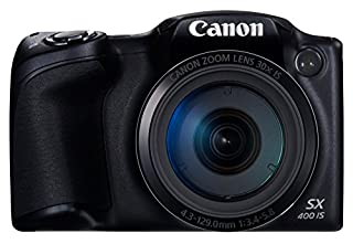 Canon デジタルカメラ PowerShot SX400IS(BK) 約1600万画素 光学30倍ズーム ブラック PSSX400IS
