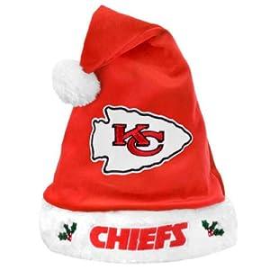 NFL Kansas City Chiefs Santa Hat - Red by Football Fanatics