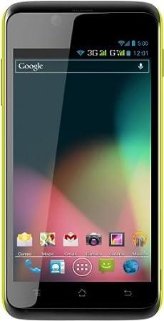 i-Joy Elektra XL Mint Smartphone débloqué (5.3 pouces - 4 Go) Jaune (import Espagne)